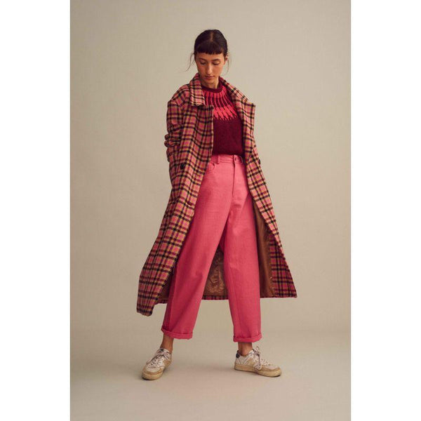 Frauen, Women - Coat Woman Terence Pink