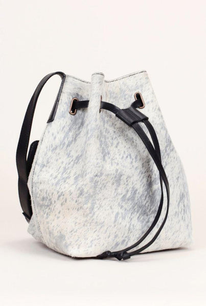 Frauen, Women - Polder Bag Fur Black/White