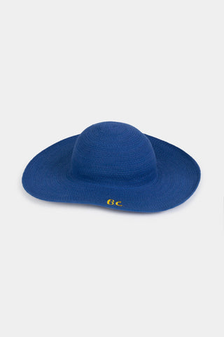 Hats - B.C. Blue Hat Magazine Blue