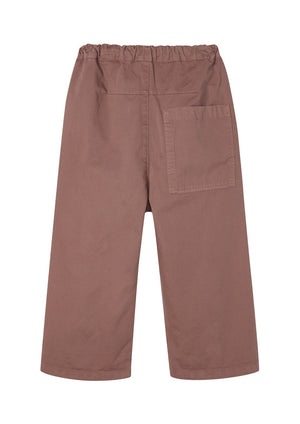 Barrel Leg Pants Rose Taupe - Zirkuss