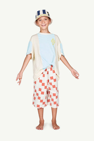 Buffalo Kids Trousers White Squares - Zirkuss