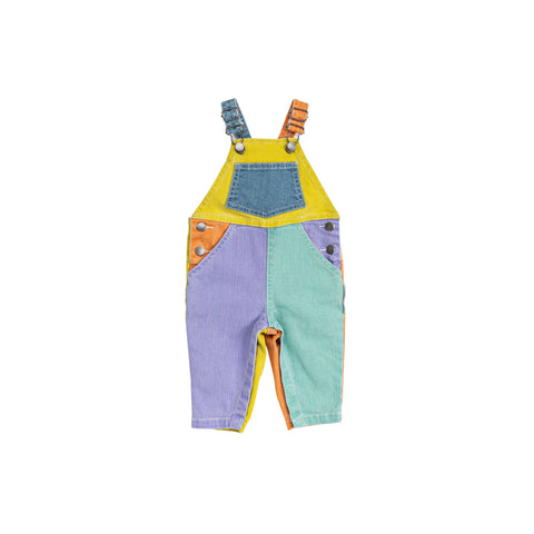 Denim Dungarees Colorblock Stella McCartney Kids | Zirkuss