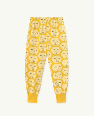 Dromedary Kids Trousers Yellow Face - Zirkuss