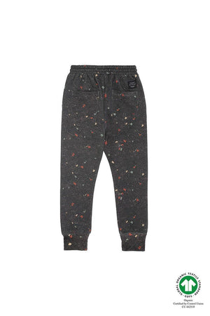 Jules Pants AOP Terazzo Black - Zirkuss
