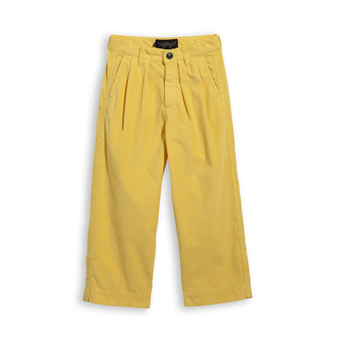 Hosen, Pants - Lucy Loose Fit Cropped Jeans Yellow Cord