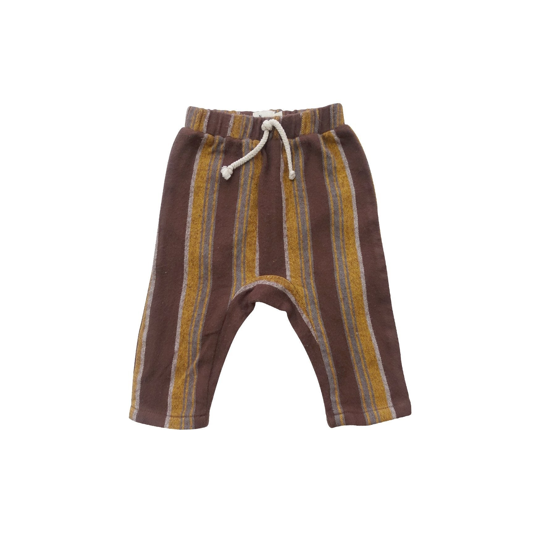 Reece Baby Harem Pants Brown Stripe Nico Nico | Zirkuss