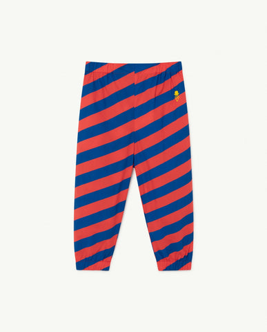 Rhino Kids Trousers Red Stripes - Zirkuss