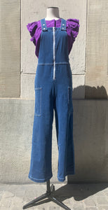 Flare Denim Dungarees Blustone Stella McCartney Kids | Zirkuss