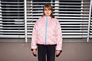 Reversible Jacket Pink/Ecru - Zirkuss