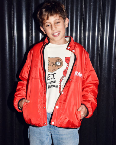 Rip Stop Jacket with Teddy Bear Side Stella McCartney Kids | Zirkuss