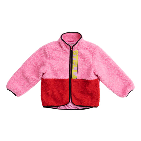 Jackets - Teddy Bear Jacket Colorblock Sugar Candy