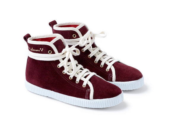 Jungen, Boys - April Showers Schuhe Spitz Burgundy