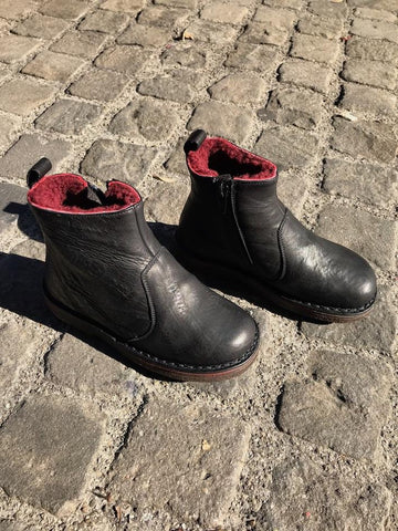 Boots Dublin Kids  Black/Bordeaux pepe Kinder Schuhe | Zirkuss