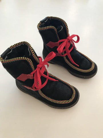 PèPè Shoes Pony Black KIDS pepe Kinder Schuhe | Zirkuss