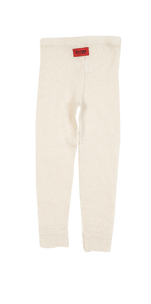Jungen, Boys - Gudrun & Gudrun Leggings Feinstrick Off-White