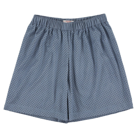 Jungen, Boys - Perforated Petrol Shorts