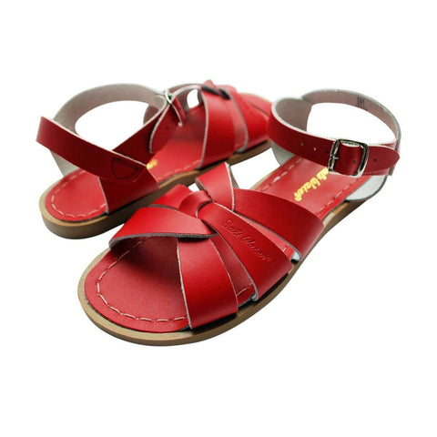 Jungen, Boys - Saltwater Sandals Premium Kids And Teenager Red