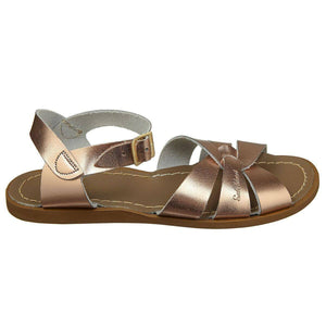 Jungen, Boys - Saltwater Sandals Premium Kids, Teenager And Woman Rose Gold