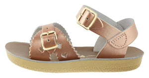 Salt-Water Sandals Sweetheart Swimmer Rose Gold Saltwater Sandalen | Zirkuss