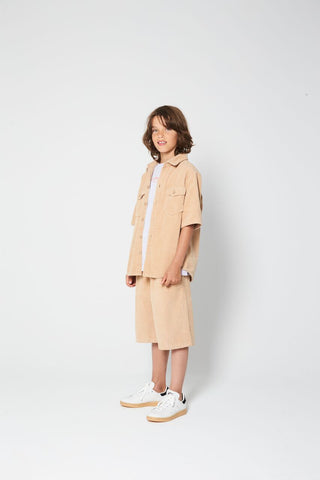 Jungen, Boys - Shirt Kyan Sesame Brown