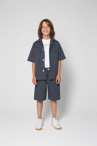 Jungen, Boys - Shirt Mico Blue Nights