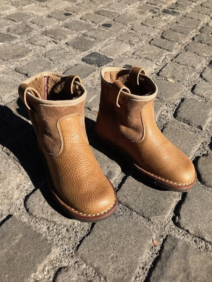 Jungen, Boys - Shoes Montone Kids & Woman Light Tabacco