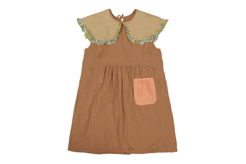 Brown Kids Dress Tambere | Zirkuss