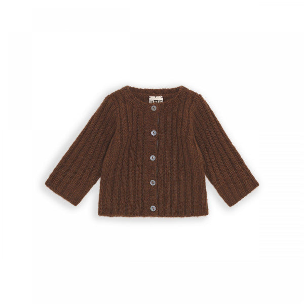 Kleid, Dress - Cardigan Baby Mohair James Brown
