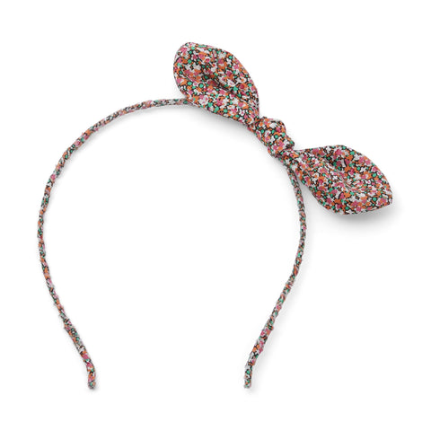 Kleid, Dress - Hairband Noeud Liberty Printed Rose