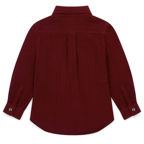 Kleid, Dress - Shirt Paname Rouge Colere