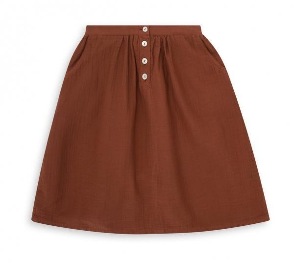 Kleid, Dress - Skirt Novembre Marron Chocolat