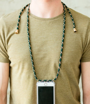 Smartphone Necklace Bordeaux Camouflage - Zirkuss