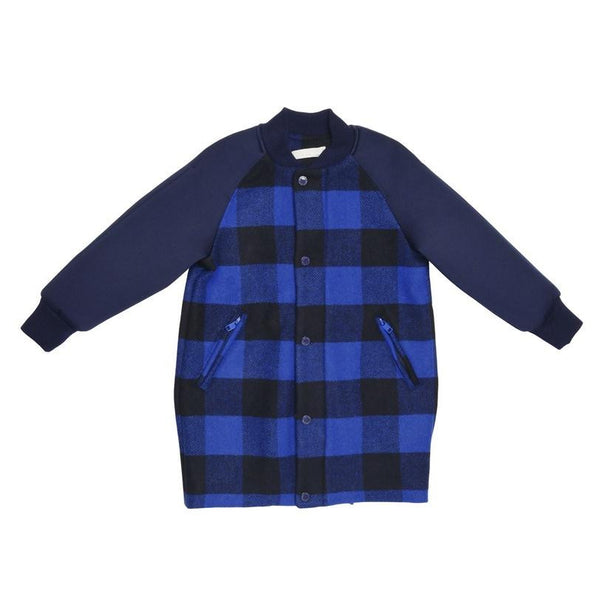 Kleidung, Clothing - Stella Mc Cartney Mantel Renae Checks