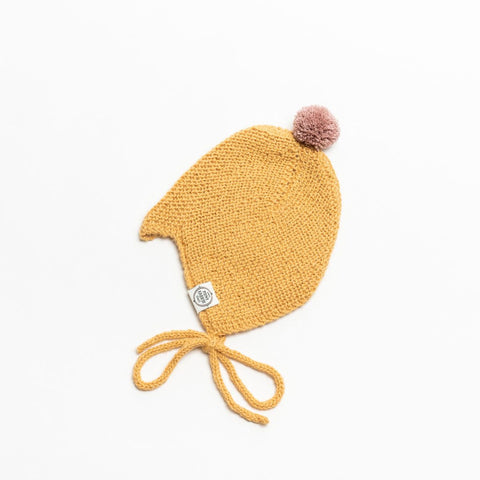 Alpaca Hat Nanna & Niels Golden Rod Mini Fabrik | Zirkuss
