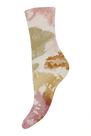 Ankle Socks Violet tie dye Women - Zirkuss