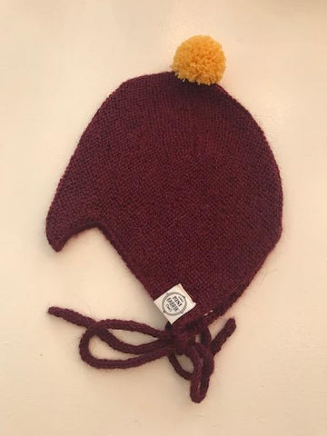 Alpaca Hat Bordeaux Mini Fabrik | Zirkuss