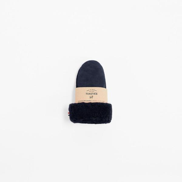 Mädchen, Girls - Gloves Sheepskin Black