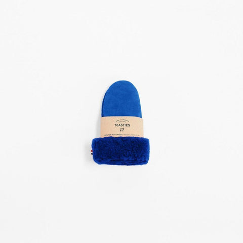 Gloves Sheepskin Blue Toasties | Zirkuss