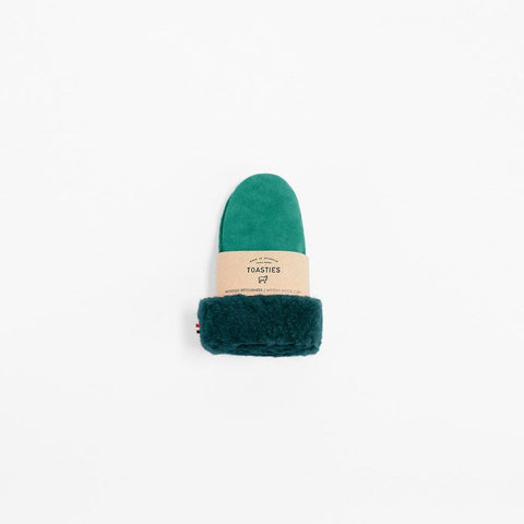 Gloves Sheepskin Green Toasties | Zirkuss