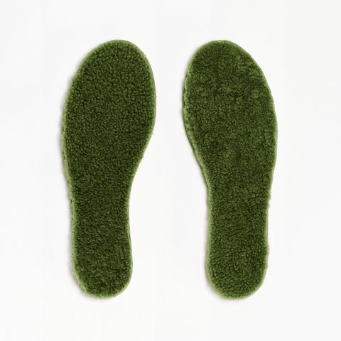 Mädchen, Girls - Insoles Sheepskin Woman Army