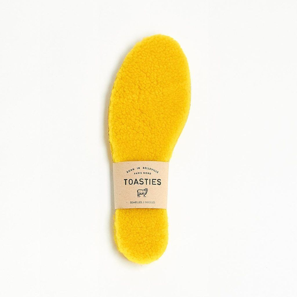 Insoles Sheepskin Woman Yellow Toasties | Zirkuss