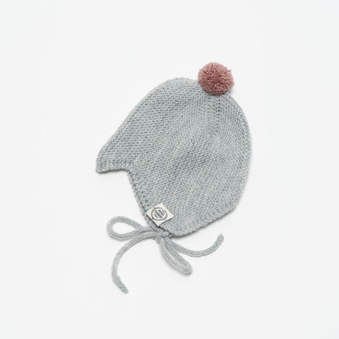Merino Hat Asta & August Light Grey Mini Fabrik | Zirkuss