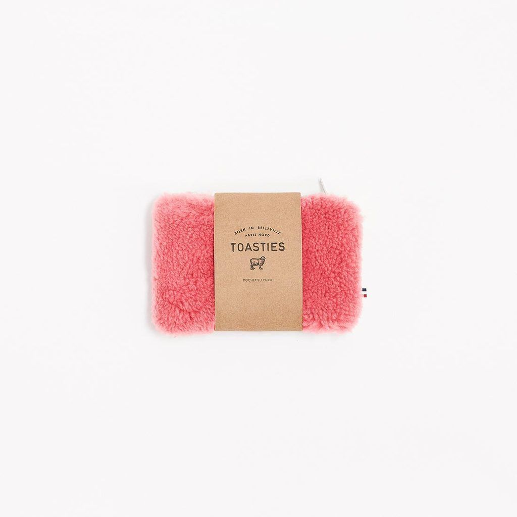 Purse Small Sheepskin Pink - Zirkuss
