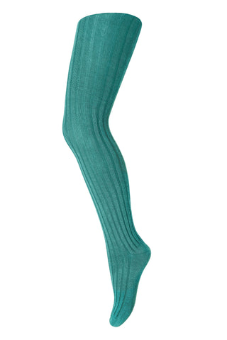 Mädchen, Girls - Tights Cotton Green