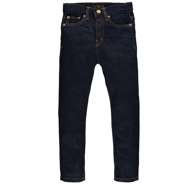 Marken, Brands - Finger In The Nose Jeans Ewan Raw Denim Blau