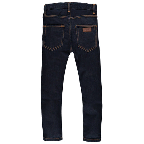Jeans Ewan Raw Denim Blau Finger in the nose | Zirkuss