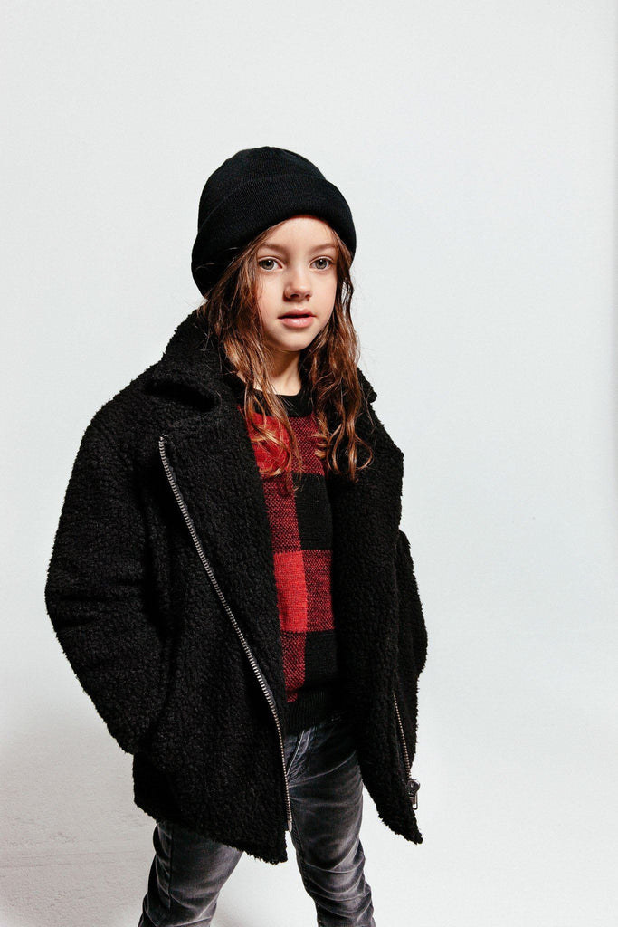 Mädchen, Girls - Finger In The Nose Jacke Dark Star Schwarz