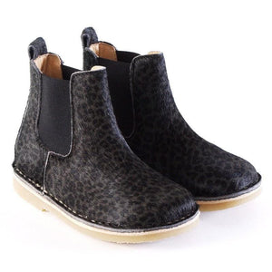 Petit Nord Shoes Fur Panther Grey - Zirkuss