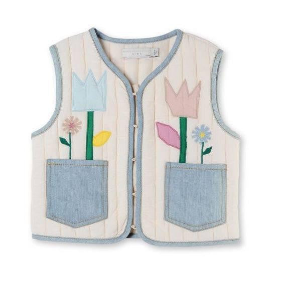 Mädchen, Girls - Stella Mc Cartney Gilet Twister Shell