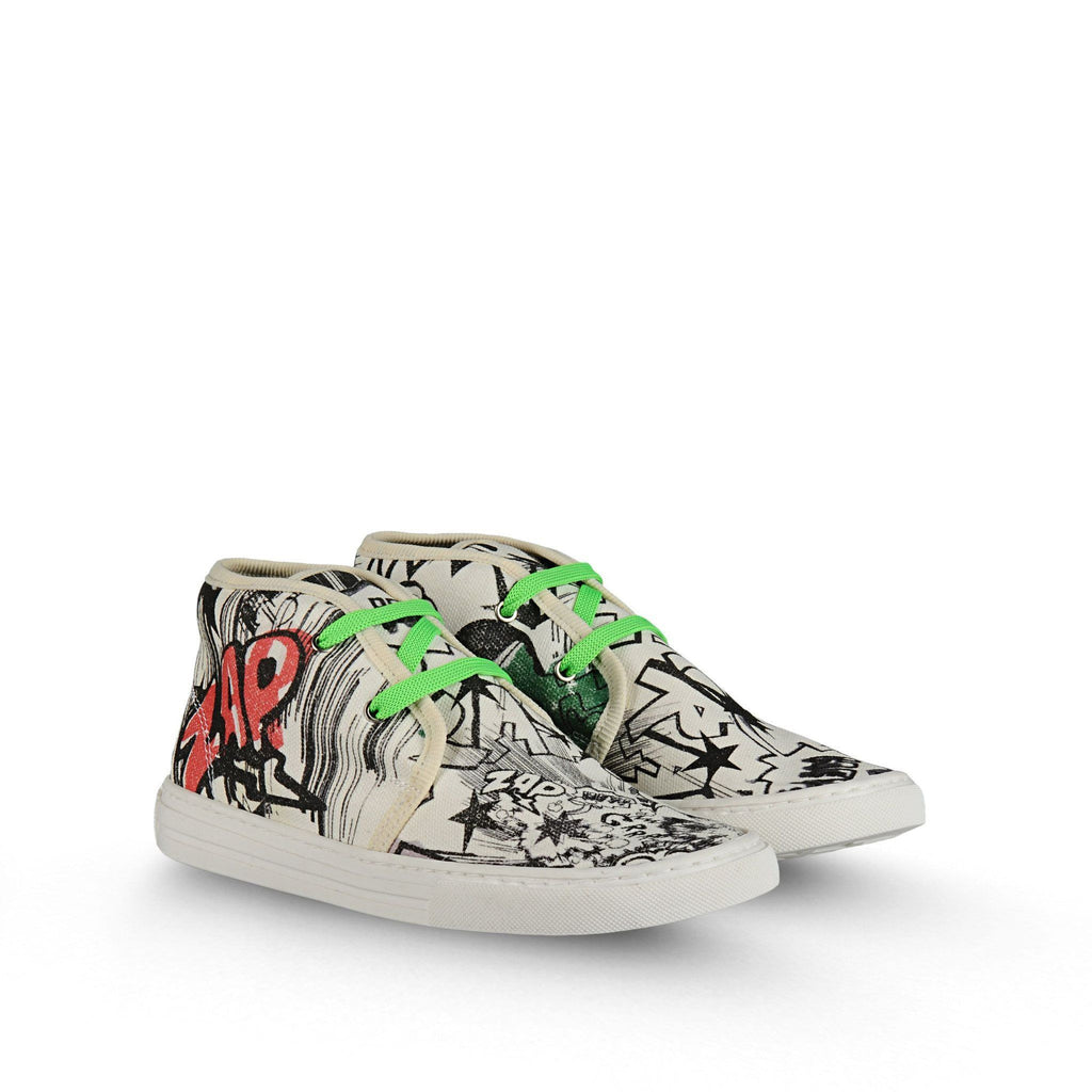 Mädchen, Girls - Stella Mc Cartney Sneakers Alonzo Canvas Comic
